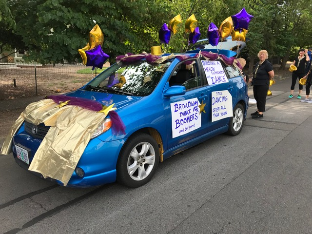 The Broadway Boomers Conquer The Ashland 4th Of July Parade